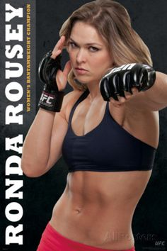 UFC Ronda Rousey Ultimate Fighting Championship Mixed Martial Arts Fighting Poster Print 24 by 36 * Details can be found by clicking on the image. Rowdy Ronda, Ufc Women, Mixed Martial Arts, Champion, Bikini, Workout, Celebrities, Sexy, People
