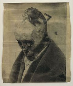 Sigmar Polke at Leo Koenig (Contemporary Art Daily) Creepy, Scary, Paint Photography, White Photography, La Face, Object Drawing, Dark Images, Contemporary Art Daily, Art And Architecture