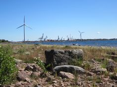 Reposaari Tuulipuisto I Want To Travel, Windmills, Homeland, Tourism, Scenery, To Go, Earth, Mountains, World