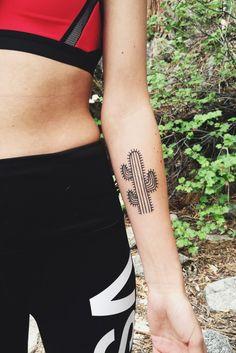 cactus tattoo!