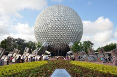 """Epcot #Florida (Experimental Prototype Community of Tomorrow) is a """"permanent world's fair"""" which celebrates technology and cultures from all over the world. It is the sixth most-popular theme park in the world, with nightly fireworks shows, interactive scavenger hunts for kids, flower and food shows and tech showcases."""