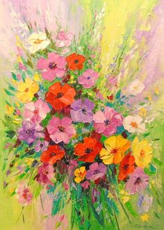Image result for impressionist flower paintings