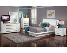The Dimora White Collection | Value City Furniture