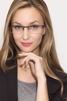 d8f9481ea37 Vega Black Metal Eyeglasses from EyeBuyDirect. Come and discover these  quality glasses at an affordable