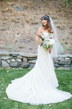 Photography: Wai Reyes - waiphoto.com  Read More: http://www.stylemepretty.com/california-weddings/2014/12/24/rustic-romantic-wrightwood-ranch-wedding/