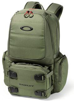 Oakley SI Worn Olive Chamber Range Pack.