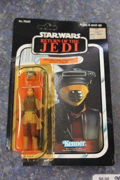 Original Vintage Star Wars Return Of The Jedi Princess Leia Organa Boushh MOC 83