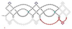 Free pattern for necklace Juliette | Beads Magic#more-4342