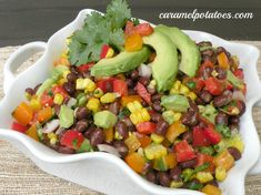 Black Bean Confetti Salad - Always a Party Favorite!