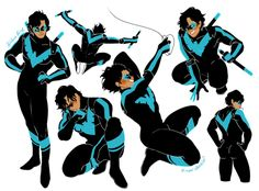 """maridoodles:  """"nightwing?? bitch i mightwing  """""""