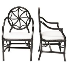 Check out this item at One Kings Lane! Sundial Chairs, Pair