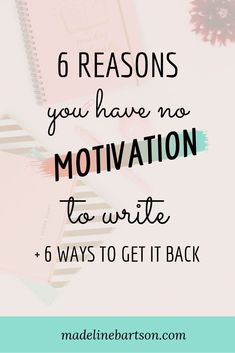 6 Reasons You Have No Motivation To Write + 6 Ways To Get Yourself Out Of A Writing Slump - Happy When Writing Writing Motivation, Writing Goals, Script Writing, Writing Quotes, Fiction Writing, Writing Advice, Writing A Book, Becoming A Writer, Journal Writing Prompts