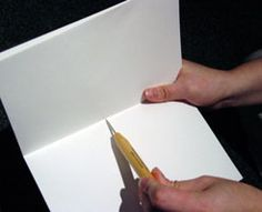 Bookbinding 101: Your First Book -  I'm going to show you just how easy making and sewing your own book can be. The easiest book to make is a one signature book