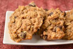 Vegan Peanut Butter Banana Chocolate Chunk Cookies - Food Doodles