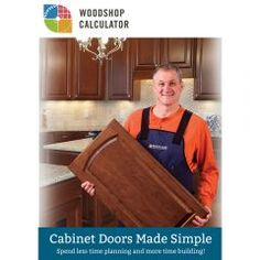 Woodshop Calculator for Door Making (License Key) Making Cabinet Doors, Shaker Style Cabinet Doors, Hinges For Cabinets, Types Of Cabinets, Built In Cabinets, Building Kitchen Cabinets, New Kitchen Cabinets, Rockler Woodworking, Woodworking Supplies