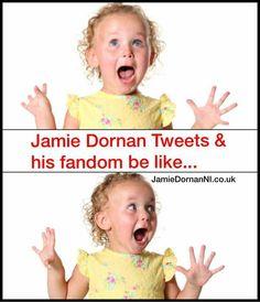 Hilarious!! Credit: JamieDornanNI.co.uk