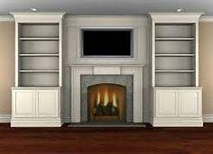 bookshelf next to fireplace bing images - Bookshelves Next To Fireplace