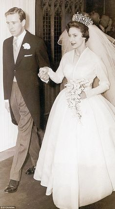 The couple pictured on their wedding day on May 6, 1960...