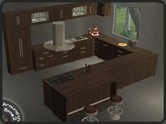 Around the Sims 2 | Objects | Kitchen | Compo