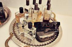The Peak of Tres Chic: Pretty Organization: Perfumes