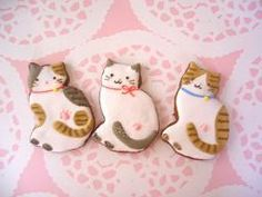 Cute Kitty Cookies  ~