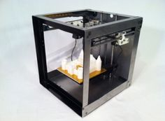 First 3D printer below 500 dollars! Slick!