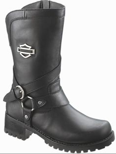 Harley-Davidson Men's Landon 10-Inch Motorcycle Boots Black, Brown ...