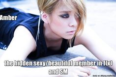 Amber, I knew you were pretty and beautiful from the start but this made me look at you to another level...   allkpop Meme Center