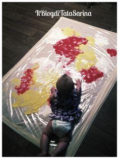 paint recipes & art activities for babies & toddlers. I paint recipes & art activities for babies & toddlers. I love the MESS FREE a… paint recipes & art activities for babies & toddlers. I love the MESS FREE art ideas! Baby Sensory Play, Baby Play, Baby Sensory Bags, Toddler Art, Toddler Crafts, Crafts Toddlers, Infant Crafts, Infant Activities, Activities For Kids