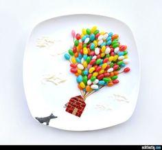 Beeindruckende Essens-Kunst #19