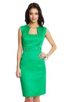 Stylish Baylor green dress