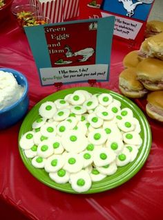 Dr. Seuss Baby Shower Food Yertles Caramel Turtles Pretzels with Rolo ...