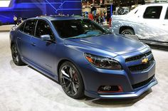 2014 Chevy Malibu Turbo Performance concept car