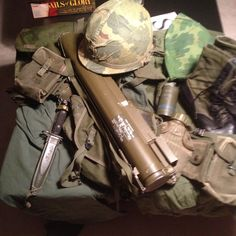Want to paint Vietnam era?  Get a friend who gives you an authentic uniform! Do some color matching with this!