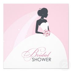 If you are looking for bridal shower invitations, then this Elegant White Dress Bride Invitation Card is perfect for you, and it's totally customizable!