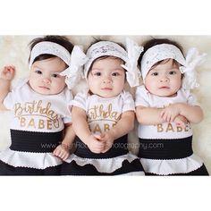 Outfit inspiration. @rubyblueinc messy lace bow, @lolaanddarla Birthday Babe tees, @littleprincessrosebud black and white stripe skirt #Padgram