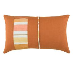 I pinned this Aquarelle Rectangle Pillow in Tangelo from the Wildcat Territory event at Joss & Main! Modern Cushions, Joss And Main, Decorative Pillows, Cozy, Throw Pillows, Interior Design, Fashion Design, Style, Decorative Throw Pillows