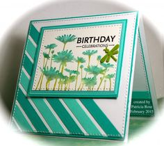 CC517, Birthday celebrations, used Upsy Daisy stamp from Stampin UP