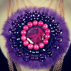 #Necklace. #Jewelry. Divina Locura. Colección Dolce Suono. #Collar AÍDA.