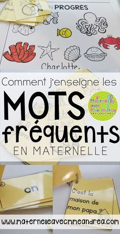 Classroom tips & tricks, resources and teaching ideas for the primary French classroom - immersion or French first-language Study French, Core French, Learn French, French Teaching Resources, Teaching French, Teaching Ideas, Teaching Spanish, Spanish Activities, Vocabulary Activities