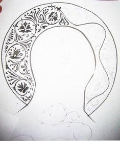 Русский орнамент Byzantine Icons, Byzantine Art, Religious Icons, Religious Art, Paint Icon, Gold Leaf Art, Persian Motifs, Metal Engraving, Stencil Patterns