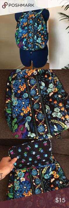 Floral Vera Bradley backpack Hardly used floral Vera Bradley small backpack. Excellent condition Vera Bradley Bags Backpacks