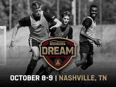 ATLUTD and @amfam announce Nashville, TN Dream Tryout dates >> http://www.atlutd.com/post/2016/09/21/atlanta-united-host-american-family-insurance-dream-tryouts-nashville-oct-8-9 …