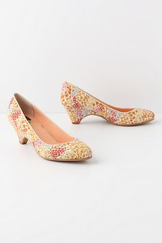 Tapetti Kitten Heels from Anthropologie. So cute!