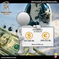 🎈😉¡Feliz inicio de semana! A las 07:00am h🕛 este USA #RomarcaEnvios te ofrece las mejores tasas de cambio del mercado alternativo. Son más de 7100 transacciones realizadas exitosamente a través de www.romarca.com📲🎊. #Venezuela #Italia #Panama #Dubai #España #Ecuador #Peru #Colombia #Chile