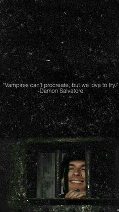 The vampire diaries// Damon Salvatore - Dairy Vampire Diaries Memes, Vampire Diaries Damon, Serie The Vampire Diaries, Vampire Diaries Poster, Ian Somerhalder Vampire Diaries, Vampire Daries, Vampire Diaries Wallpaper, Vampire Diaries Seasons, Vampire Diaries The Originals