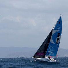 Training Time ! #training #voile #navigation #sail #sailor #ocean #sailboat #figaro #beneteau #wave #sun #bretagne #france by arnaud_godart_philippe