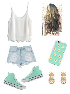 """""""Park outfit"""" by marilyng341 ❤ liked on Polyvore featuring Chicwish and Converse"""