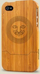 iPhone Case - Bamboo - Sunshine by Christopher Bettig
