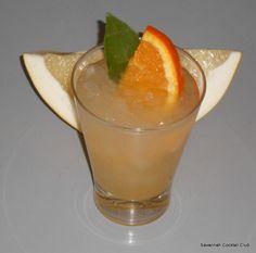 Pomelo cocktail
